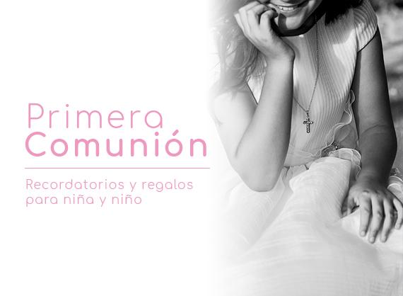 Recordatorios y regalos de comuniones Joyería Francisco Ortuño