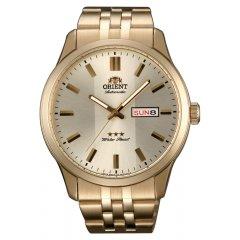 Reloj Orient RA-AB0009G19B Hombre Acero chapado Oro Automático