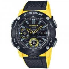 Reloj CASIO G-SHOCK GA-2000-1A9ER hombre negro y amarillo
