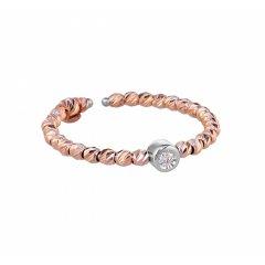 Anillo de oro rosa con diamante Bernat Rubí 01-152703R Mujer