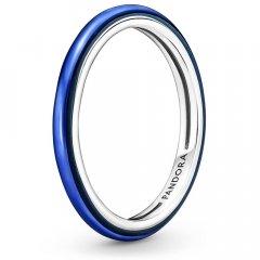 Anillo Pandora Me 199655C02-52 azul eléctrico