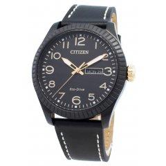 Reloj Citizen Caballero 3 agujas BM8538-10E piel