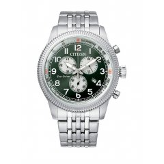Reloj Citizen Cronógrafo AT2460-89X acero hombre