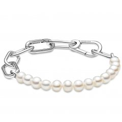 Pulsera Pandora Me 599694C01-4 perlas y eslabones