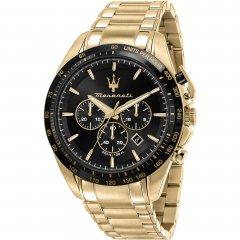 Reloj Maserati Traguardo R8873612041 acero dorado