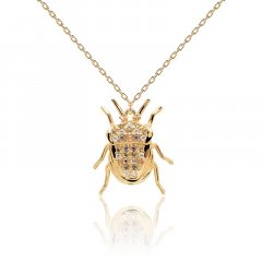 Collar Luck beetle P D Paola CO01-254-U mujer plata
