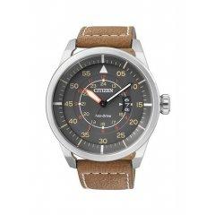 Reloj Citizen Caballero 3 agujas AW1360-12H piel