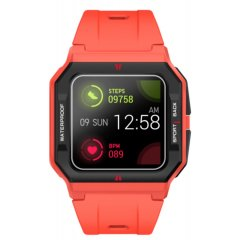 Reloj Radiant Smartwatch RAS10502 L.A Red & black