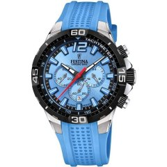 Reloj Festina Chrono bike F20523/8 caucho azul