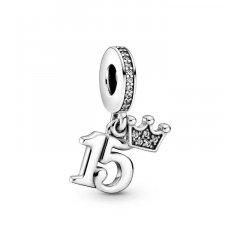 Charm colgante Pandora 799540C01 15 cumpleaños