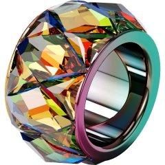 Anillo Curiosa Swarovski 5599889 mujer multicolor