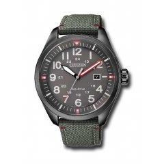 Reloj Citizen Caballero 3 agujas AW5005-39H nylon