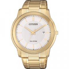 Reloj Citizen Caballero 3 agujas AW1212-87A acero