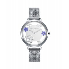 Reloj Viceroy Kiss 471296-85 acero mujer flores