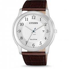 Reloj Citizen Caballero 3 agujas AW1211-12A piel