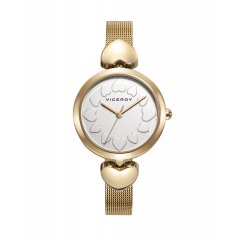 Reloj Viceroy Kiss 401138-97 acero corazones