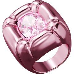 Anillo de cóctel Swarovski Dulcis 5601579 rosa