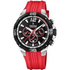 Reloj Festina Chrono bike F20523/7 caucho rojo