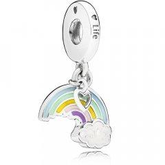 Abalorio Pandora 797016ENMX Arco Iris del Amor