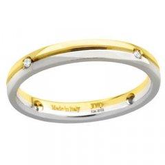Alianza de Boda Davite & Delucchi AA2020D Albraccio Oro Diamantes