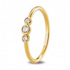 Anillo ARGYOR 74A0073 mujer oro amarillo Diamantes