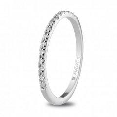 Anillo ARGYOR 74B0070 mujer oro blanco Diamantes