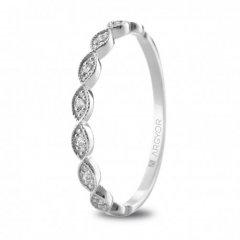 Anillo ARGYOR 74B0071 mujer oro blanco Diamantes