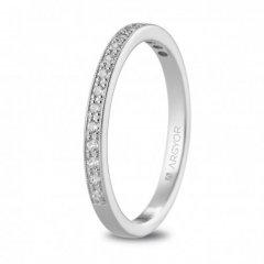 Anillo ARGYOR 74B0077 mujer oro blanco Diamantes