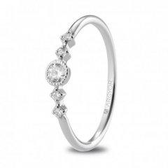 Anillo ARGYOR 74B0084 mujer oro blanco Diamante