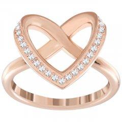 Anillo Cupidon SWAROVSKI 5140096 Mujer Cristal Oro rosa