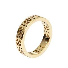 Anillo Fossil JF00432710505 Mujer Acero Dorado