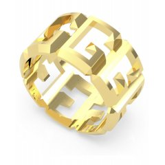 Anillo GUESS UBR70017-54 mujer acero dorado