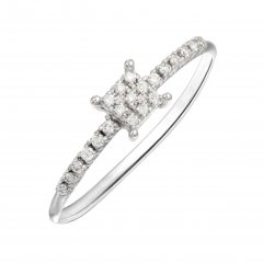 Anillo Melee Itemporality GRN-101-049-14 diamante