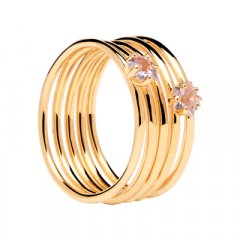 Anillo ORION PDPaola AN01-171-14 mujer baño oro