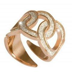 Anillo Rebecca BDIAOB02 mujer bronce diamantado