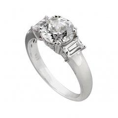 Anillo CLASSIC DIAMONFIRE 6114781080165 mujer plata