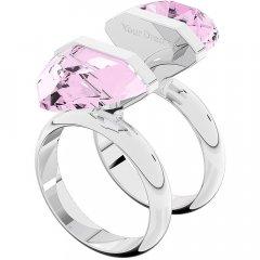 Anillo Swarovski brillante magnético 5620711 rosa