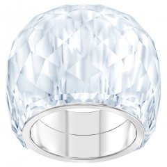 Anillo Swarovski Nirvana 5410311 mujer cristal plateado