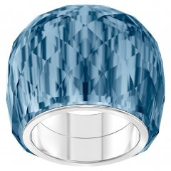 Anillo Swarovski Nirvana 5432195 mujer cristal azul