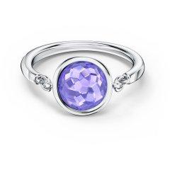 thumbnail Anillo Swarovski Twist Wrap 5572714 mujer violeta
