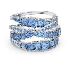 Anillo Swarovski Twist Wrap 5582809 mujer azul