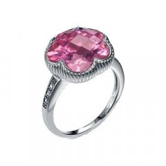 Anillo Viceroy 8008A016-36 Mujer Plata Cristal Flor