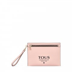Bolso clutch Tous 095900689 Essential multi rosa
