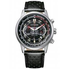 Reloj Citizen Cronógrafo CA4460-19E acero y piel