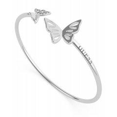 Brazalete GUESS mariposas UBB70117-S acero mujer