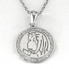 Cadena y medalla Bernat Rubí 6N624 Niña Plata Diamantes Comunión
