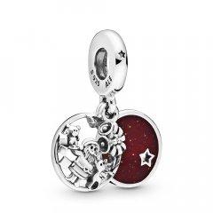 thumbnail Charm Pandora corazones y patas 799360C00 plata
