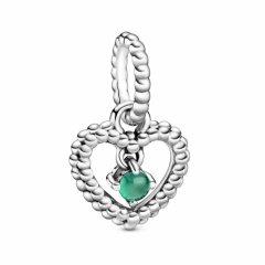 Cham colgante Pandora 798854C05 Plata primera ley Mujer Corazón de Esferas