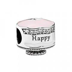 Cham Pandora 792061ENMX Plata primera ley Mujer Pastel cumpleaños