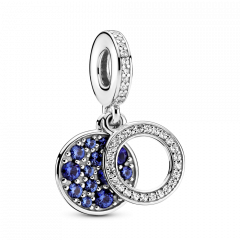 thumbnail Charm Pandora Cielo Azul Noche Creciente Luna 799216C01 mujer